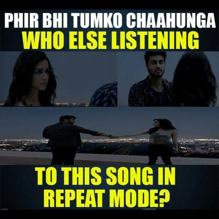 Main phir bhi tumko chahunga – Lyrics | Half Girlfriend 2017